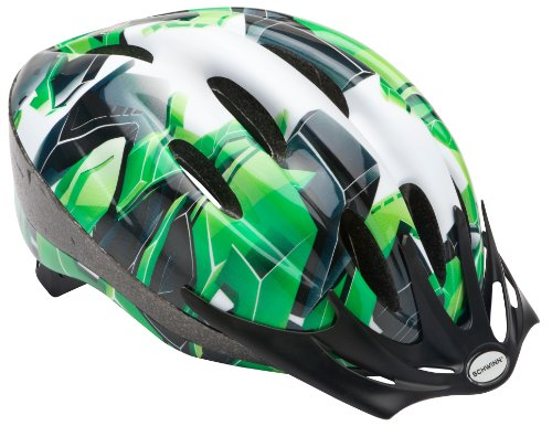 Schwinn-Youth-Intercept-Helmet-Green