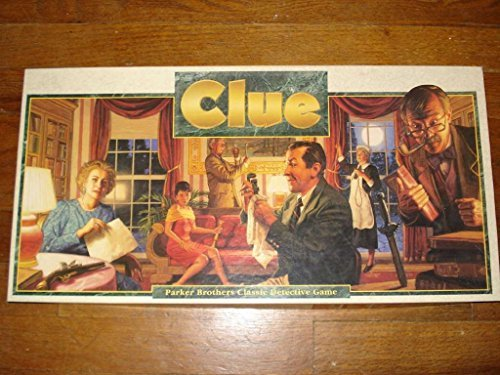 Vintage 1986 Clue Classic Detective Board Game Factory Seale