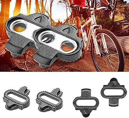 ENticerowts Pedaleo Cleat Bike Accesorios Bicicleta Bicicleta Bicicleta Ciclismo Bicicleta Autobloqueo Set Trajes para Shimano SPD, multicolor: Amazon.es: Bricolaje y herramientas