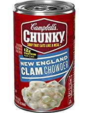 Campbell's Chunky Soup, New England Clam Chowder , 18.8 Ounce