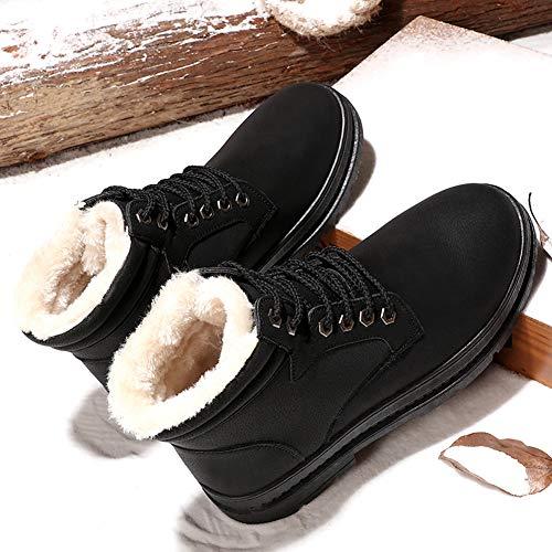 El Hombres Para Invierno Tobillo De Negro Botas Calientes Impermeables Zapatos Nieve Botines qwz1gt