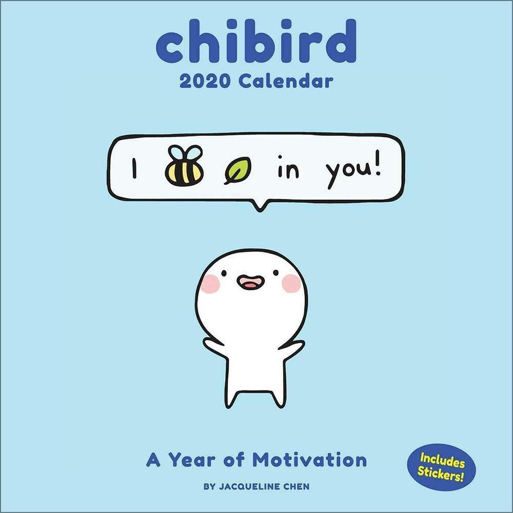 Chibird 2020 Wall Calendar: A Year of Motivation