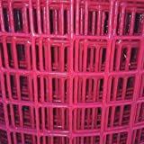 Mesh, 1in., 24in. W, Red