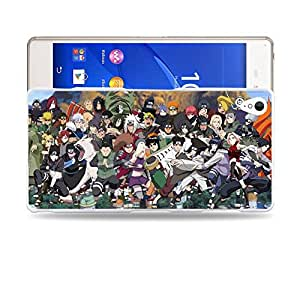 Case88 Designs Naruto Protective Snap-on Hard Back Case Cover for Sony Xperia Z3