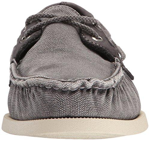 Sperry 2-Eye Wedge Can. Grey, Scarpe da Barca Uomo grigio