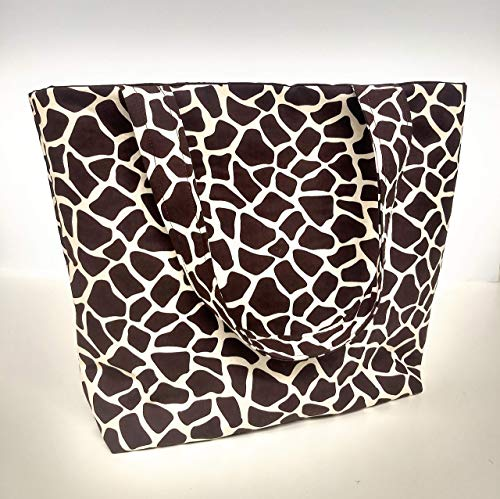 Giraffe Animal Print Tote Bag