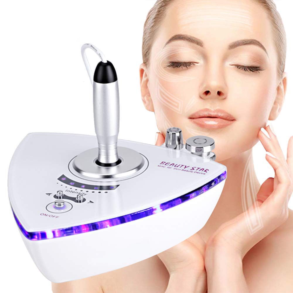 2 in 1 Facial Machine, Beauty Star Home Use Portable Beauty Machine for Face and Eyes Skin Care