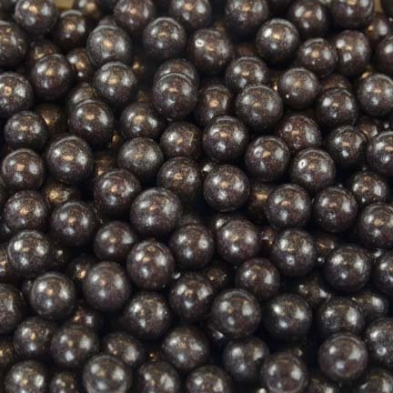 Black Pearl Dragees 4mm, 2 Pounds by Chef Alan Tetreault by ALAN TETREAULT SELECT PRODUCTS