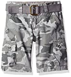 Best Levi's Clothing For Boys - Levi's Big Boys' Cargo Shorts, Smoked Pearl Camo Review