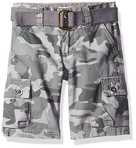 Levi's Big Boys' Cargo Shorts, Smoked Pearl Camo, (Boys Cargo Camo)