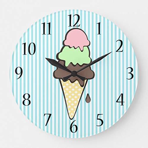 ice cream cone wall clocks - 5