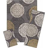 Better Homes and Gardens Overlapping Medallion 3-Piece Rug Set