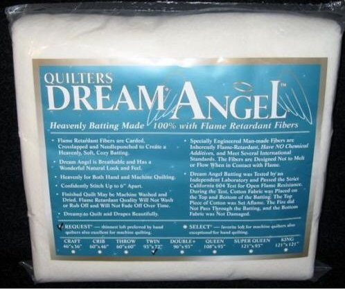 Quilters Dream ANGEL Select MidLoft Crib Size 61''X46'' by Quilters Dream Angel