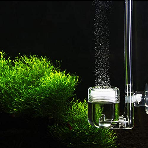 Sivenv Nano Co2 Diffuser with Bubble Counter, Check Valve and U-Shape Connecting Tube for Aquarium Planted Tanks