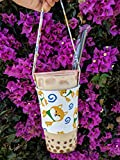 Bubble Tea Carrier - Bubble Tea Holder with Straw