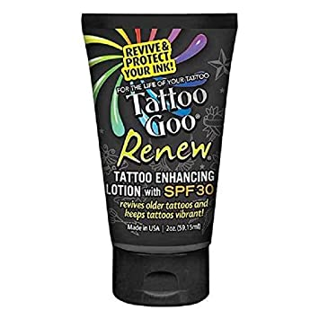 Tattoo Goo Renew Lotion Revive Old Tattoos Keep New Ones Vibrant