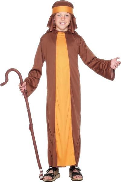 Disfraz de Fancy fiesta de Navidad para pastor niños completo traje ...