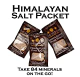 The Spice Lab Pink Himalayan Salt - X-fine 50 Salt Packets - Gourmet Pure Crystal - Nutrient and Mineral Dense for Health - Kosher and Natural Certified