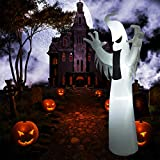 SUPERJARE Inflatable Ghost, Airblown Halloween
