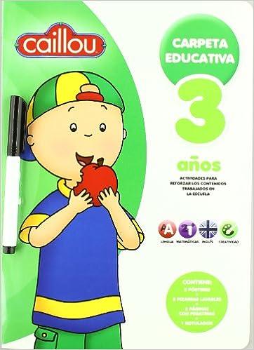 VACACIONES CAILLOU 3 A¥OS: MEDIALIVE: 9788415239291: Amazon ...