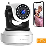 【NEW VERSION】APEMAN WiFi IP Camera 720P Wireless Home Security Surveillance Camera with Night Vision Baby Pet Monitor Motion Detection Two Way Audio
