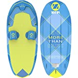 ZUP DoMore All-in-One Watersports Performance Board - Hex Pattern - Kneeboard, Wakeboard, Wakesurf Board and Water Skis! (Tartan)