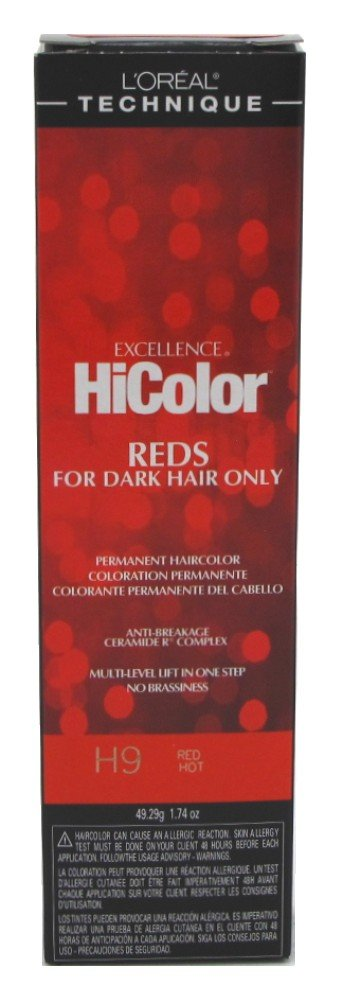L'Oreal Excellence HiColor Red Hot, 1.74 oz (Pack of 2)