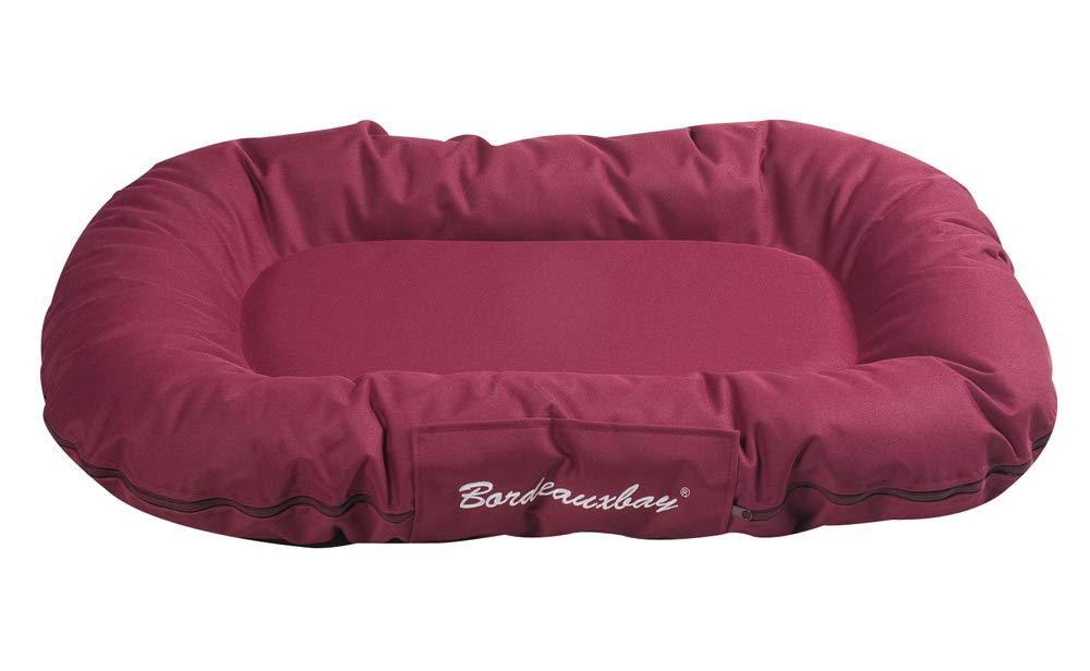 Bordeaux Red 80 x 60 x 14 cm Bordeaux Red 80 x 60 x 14 cm Karlie Dog Cushion Oval, 80 x 60 x 14 cm, Bordeaux Red