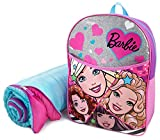 Barbie Full Size Backpack with Sleeping Bag