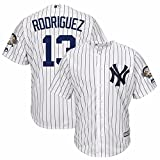 2016 Alex Rodriguez New York Yankees Cool Base Jersey w/ 3000 Hits Patch (X-Large)