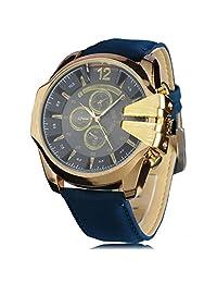 Men Sports Watch Cowboy V6 Watches For Men Quartz Watch Analog Military Leather Wrist Watch Casual Fashion Gift For Boyfriend