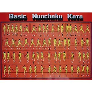 Poster Nunchaku Kata
