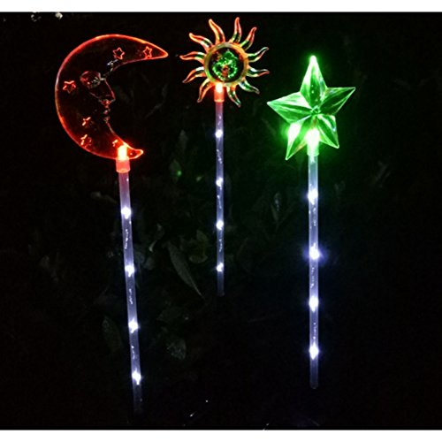 Sun And Moon Solar Lights
