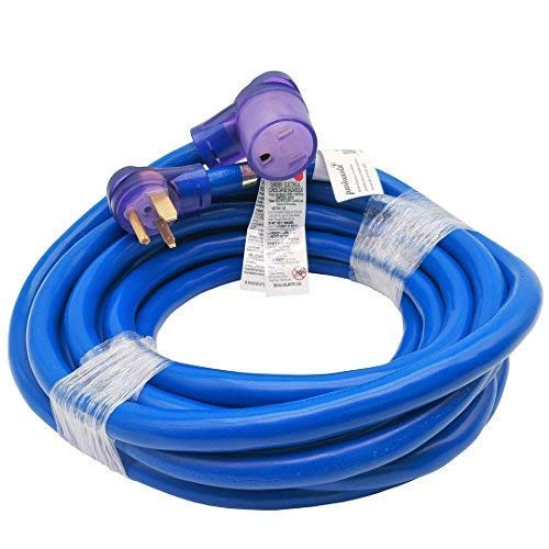 Parkworld 885323 Welder 50A Plug 3-Prong NEMA 6-50 Extension Cord (25') ()