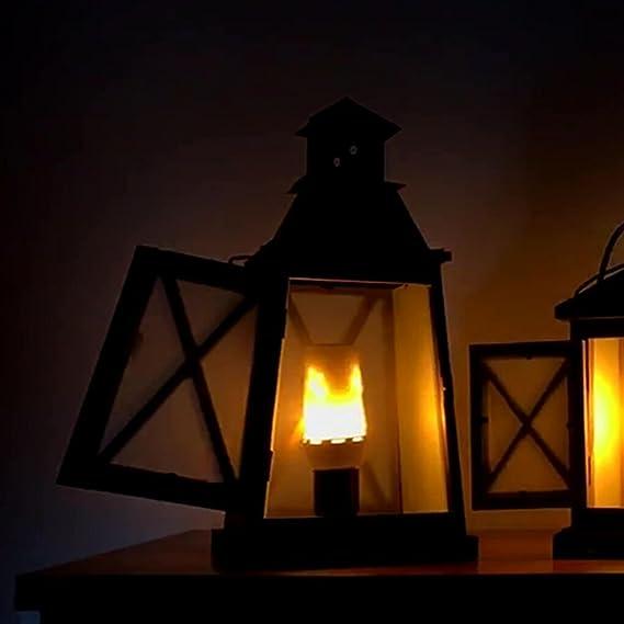 Amazon.com: Bombillas LED efecto llama, luces creativas con ...