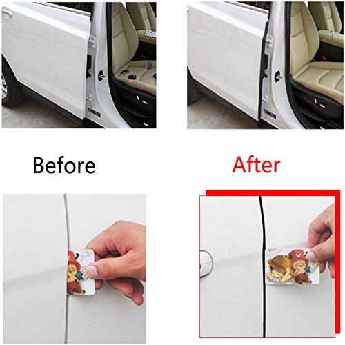 Constructive 8pcs Car Door Edge Guards Trim Molding Protection Strip Scratch Protector White Automobiles & Motorcycles Air Freshener