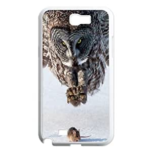 Owl Pattern Hard Plastic Back Case Cover for Samsung Galaxy Case Note 2 TSL156423