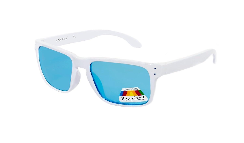 Rainbow Kinder Sonnenbrille Cobra für Jungen und Mädchen 8+ Kinder Sportbrille / Polarisiert / 3302 (Black/Ice Mirror) Y1mzcN