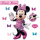 Fathead 74-74527 Wall Decal, Minnie Mouse