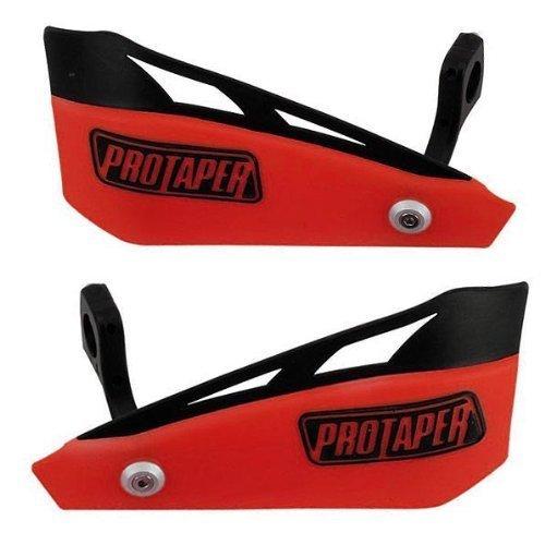 Pro Taper Red Brushguard Kit (Bar Mounts Pro Taper)