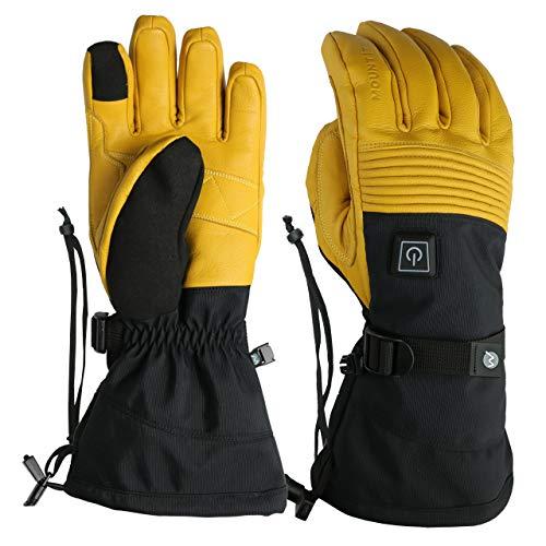 (MOUNT TEC Unisex Explorer 4 Heated Performance Glove (Yellow, small))