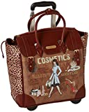 Nicole Lee Rolling Business Tote, Cosmetic, One Size