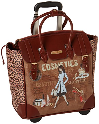 Nicole Lee Rolling Business Tote, Cosmetic, One Size by Nicole Lee