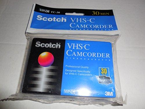 Scotch VHS-C Professional Quality TC-30 Cassette