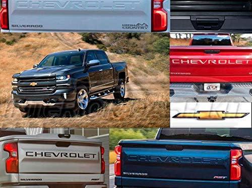 Diamond Grade 1pc Lower Tailgate Trim for 2020 Chevy Silverado 2500 HD