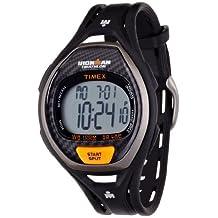 Timex Men's T5K3359J Ironman Sleek 50-Lap Black Resin Strap Watch