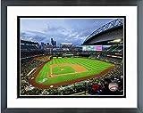 "Safeco Field Seattle Mariners MLB Stadium Photo (Size: 12.5"" x 15.5"") Framed"