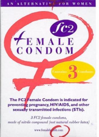 female condom fetish Used