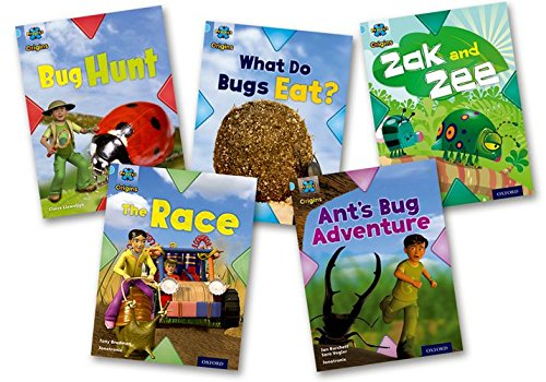 Project X Origins: Light Blue Book Band, Oxford Level 4: Bugs: Mixed Pack of 5 PDF