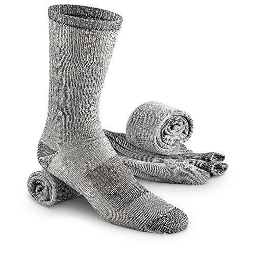 3 - Prs. Merino Wool Blend Socks- Size - Mens Size Guide